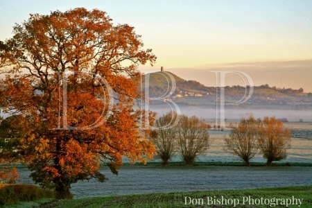 (NT) Glastonbury Tor on an Autumn morning