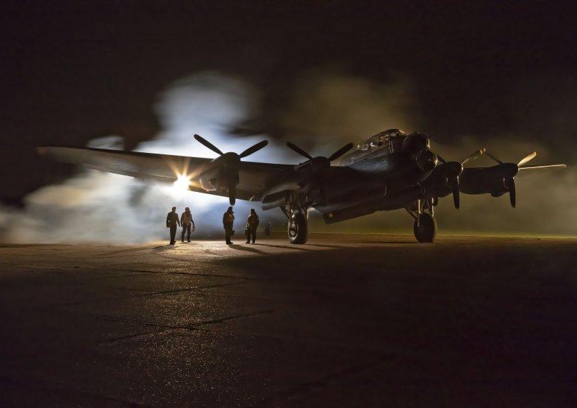 """Lancaster bomber - """"Just Jane"""""""